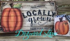 Painted and designed by Lezlie Adams Painting Pumpkins, Craft Corner, Repurposed, Harvest, Bottles, Couture, Canning, Projects, Crafts