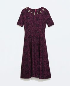 Image 6 of JACQUARD DRESS from Zara