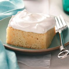 Tres Leches Cake Recipe from Taste of Home -- shared by Joan Meyers of Palos Park, Illinois