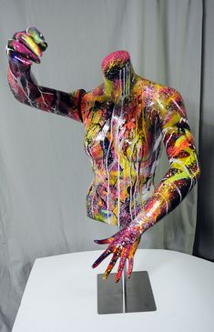 DeviantArt is the world's largest online social community for artists and art enthusiasts, allowing people to connect through the creation and sharing of art. Mannequin Torso, Mannequin Art, Pop Art, Arte Peculiar, Ceramic Sculpture Figurative, Manequin, Art Painting Gallery, Graffiti Wall Art, Deco Originale
