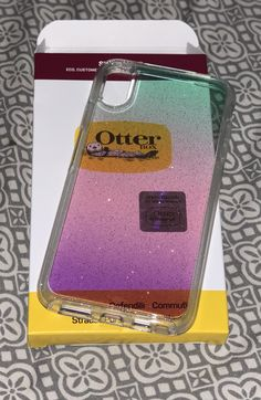 iPhone XS Max Otterbox Symmetry case gradient energy Apple Products, Lunch Box, Iphone, Bento Box