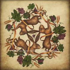 Image result for 3 hares tattoo