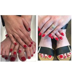 Whether it's a standard polish or gel polish. We have it all and they're both very stylish in any colour.  Call to book an appointment on 46551549. Remember we have a combo for manicure and pedicures with standard polish $55 and $85 for gel polish ♥️🌹🍄🍒 #nailart #nailsticker #manicure #nailtreatment #nailgel