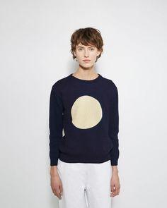 Blue Blue Japan | Indigo Moon Sweater | La Garçonne