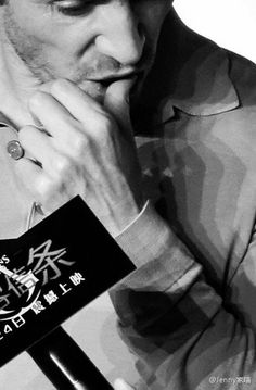 Michael Fassbender promoting 'Assassin's Creed' in Beijing, China - February 20, 2017