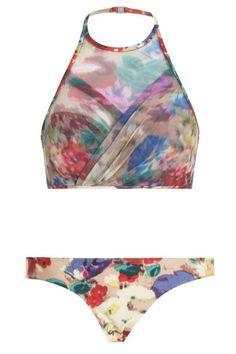 Haze Wrap Halter Bikini