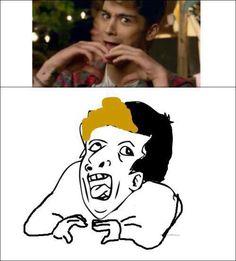 Zayn. NAILED IT. Hahah! Love this!
