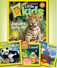 National Geographic Kids Or Little Kids Book Bundles Only $20! on http://www.couponingfor4.net