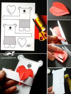 idées créatives saint valentin