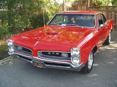 66 GTO Goat.  The muscle car of ALL muscle cars.