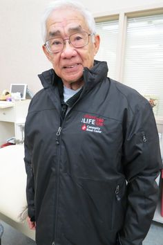 A retired engineer on achieved a lifesaving milestone: 100 lifetime donations to the Community Blood Center.