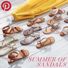 Enter the Summer of Sandals Sweepstakes for your chance to win a $100 gift card! We'll announce 3 winners on June 19th! #summerofsandals #sweepstakes