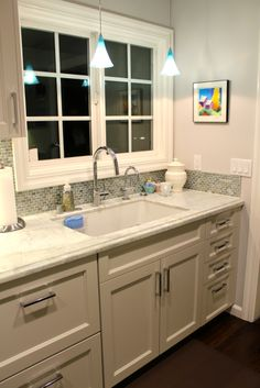 Rohl Allia White Fireclay Undermount Single Bowl Sink And Rohl Sink Grid  WSG6307. Grohe Chrome Dual Spray Pull Down. | Our New Kitchen   12/13 |  Pinterest ...