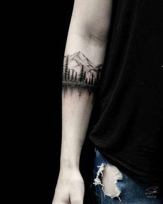 40 Landschafts Tattoo Ideen – Tattoo Motive 40 Landschafts Tattoo Ideen – Tattoo Motive,Bike Tattoo 40 Landschafts Tattoo Ideen Related posts:eye tattoo on the back of the calve, super minimalistic gorgeous. Trendy Tattoos, New Tattoos, Body Art Tattoos, Small Tattoos, Tattoos For Guys, Maori Tattoos, Arm Tattoos Nature, Tattoo For Man, Small Nature Tattoo