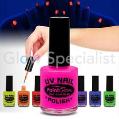 PAINTGLOW UV NAGELLAK