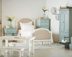 French Inspired Youth Bedroom - Magnolia Home
