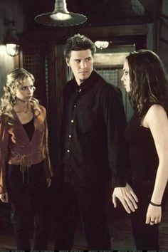 Buffy, Angel and Faith.