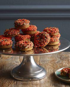 Spiced Pumpkin Donuts
