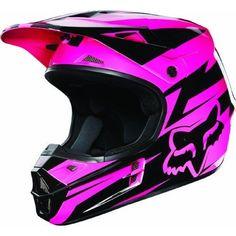 Fox Racing New Fox V1 Costa Helmet Mens Black/Pin ($159.95)