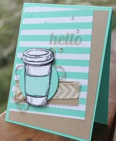 Perfect Blend Stampin' Up! www.stampwithheather.ca
