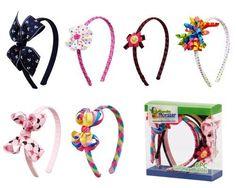 Bundle Monster 6pc Cute Handmade Grosgrain Ribbon Bows Toddler Girl Hair Headbands, SET B - Assorted Mix Lot Set by Bundle Monster, http://www.amazon.com/dp/B008DK8SCG/ref=cm_sw_r_pi_dp_w1BZrb1QQEK0S