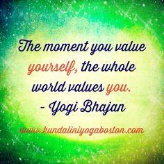 yogateacher training Yogi Bhajan Quote Kundalini Yoga Kundalini Yoga Boston