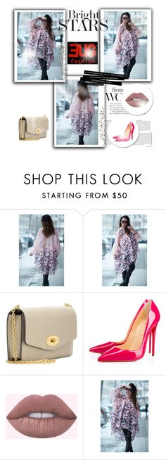 """""""Women Maxi Soft Cotton Silk Tunic Top"""" by umay-cdxc ❤ liked on Polyvore featuring Mulberry, Christian Louboutin, Pier 1 Imports and EUGfashion"""