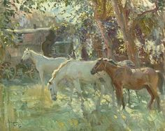 Sir Alfred James Munnings, P.R.A., R.W.S., (1878-1959) | Horses ...