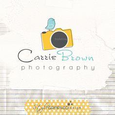 Unique lovable photographer logo!