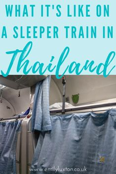 What it's like taking a sleeper train in Thailand! EVERYTHING you need to know about travelling from Malaysia to Bangkok on the overnight train - right down to what the loos look like! Tips and advice to help make your journey smoother Thailand Travel Guide, Asia Travel, Penang Island, By Train, Train Travel, Travel With Kids, What Is Like, Southeast Asia, Bangkok
