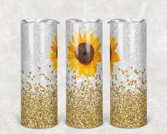 Glitter Confetti, Glitter Cups, Gold Glitter, Diy Tumblers, Glitter Tumblers, Feather Design, Tumbler Designs, Creative Studio, Pillar Candles