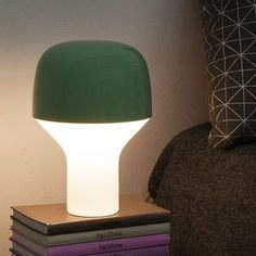Cap Table Lamp - Green - alt_image_two