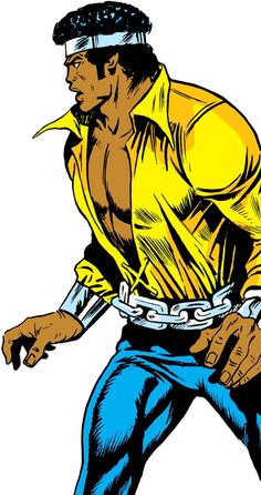 Luke Cage the 1970s hero for hire (Marvel Comics) surprised. From http://www.writeups.org/luke-cage-hero-for-hire-1970s-marvel-comics/