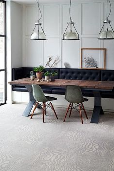 Trendy Kitchen Window Seat With Table Wall Colors Banquette Seating In Kitchen, Kitchen Table Bench, Dining Nook, Dining Room Design, Kitchen Banquet Seating, Dining Room Bench Seating, Dining Bench With Back, Upholstered Dining Bench, One Wall Kitchen