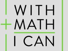 #Math resources for teachers and students >> With Math I Can Amazon Education Initiative