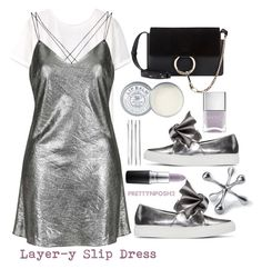 """""""Trending: Layer-y Slip Dresses"""" by prettynposh2 ❤ liked on Polyvore featuring MANGO, Topshop, Cédric Charlier, Chloé, Cara, MAC Cosmetics, Regina-Andrew Design, Jack Wills, Nails Inc. and hot"""