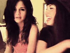 demi lovato and selena gomez   Tumblr