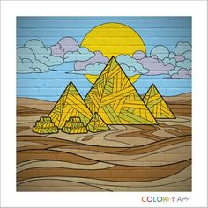 Colorfy lets you paint the world's greatest landmarks! Travel with Colorfy while creating a beautiful artwork! Download Colorfy in http://www.colorfy.net/app