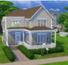 Cozy Family Home by Mettesims at Mod The Sims via Sims 4 Updates