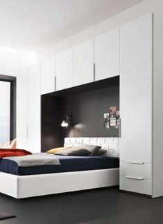 Картинки по запросу картинки дизайн спальни со шкафами по бокам кровати