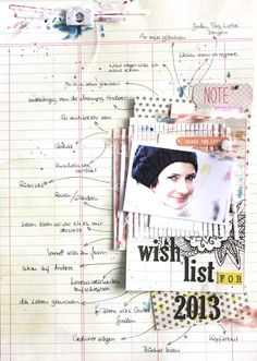 Scrapmanufaktur: wish list for 2013