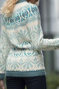 Ravelry: Lily Genser pattern by Trine Lise Høyseth Fair Isle Knitting Patterns, Knitting Stitches, Knitting Designs, Knitting Socks, Free Knitting, Knitting Tutorials, Norwegian Knitting, Fair Isles, Vintage Knitting