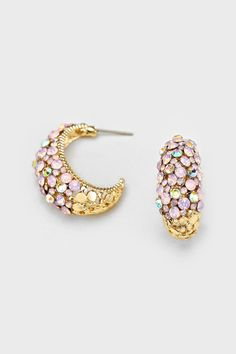 Crystal Amberly Earrings in Aspen Iridescence