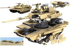 – Abrams Battle Tank