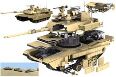 – Abrams Battle Tank