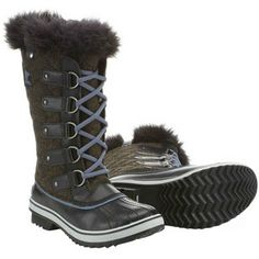 Tofino Herringbone Boot (Women's) #Sorel at RockCreek.com Love these, can't decide on this color or the beige/red...