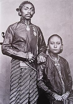 Ethnographic Arms & Armour - Identification of a royal (family) with a Kris, Java, Indonesia