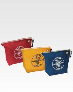 Klein Tools Zipper Consumables Bag