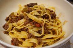 Bolognese ragú with Tagliatelle-TTI style - The Tiny Italian