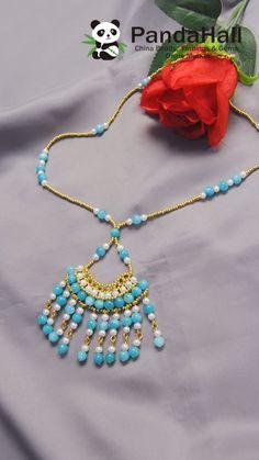 Idea on Tassel Style Beaded Handmade Wire Jewelry, Diy Crafts Jewelry, Bracelet Crafts, Handmade Necklaces, Bead Jewellery, Seed Bead Jewelry, Jewelry Making Beads, Beaded Bracelet Patterns, Jewelry Patterns